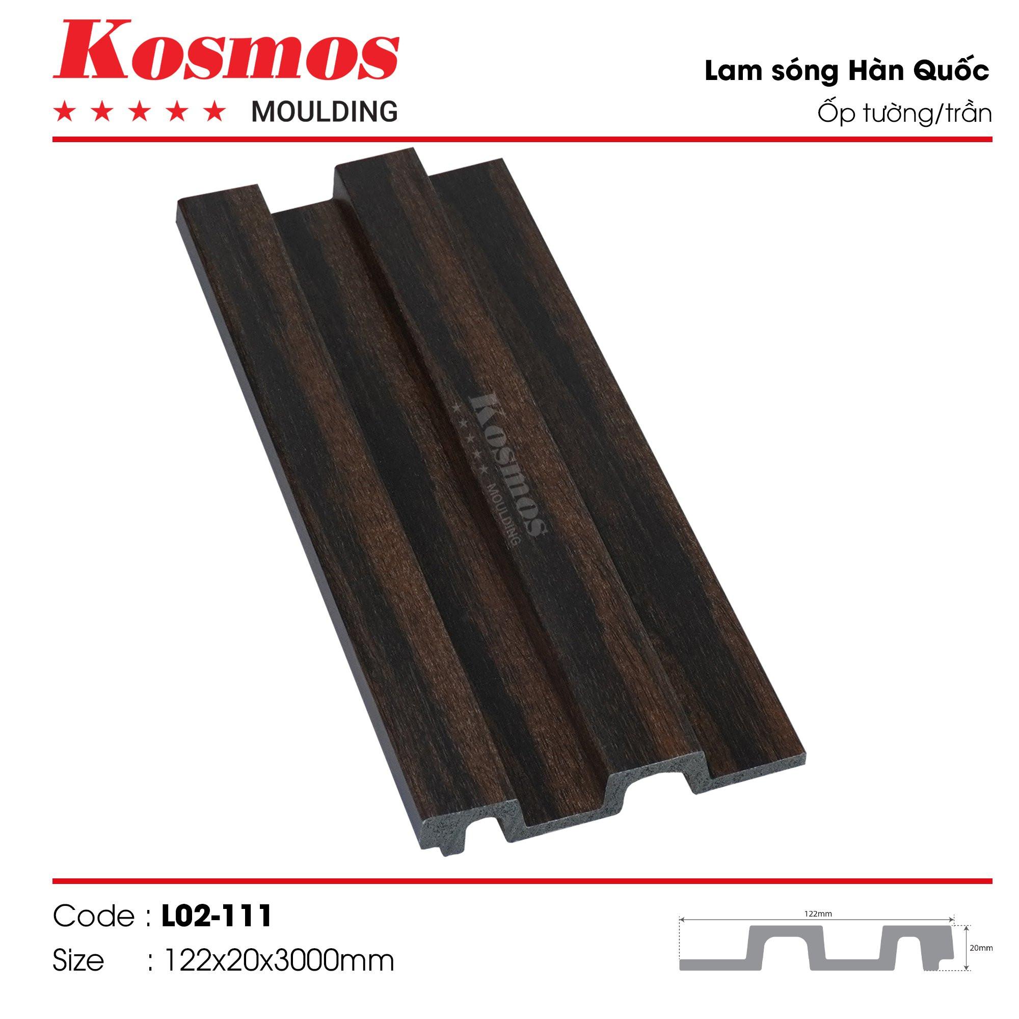 LAM SÓNG KOSMOS MOULDING LO2-111