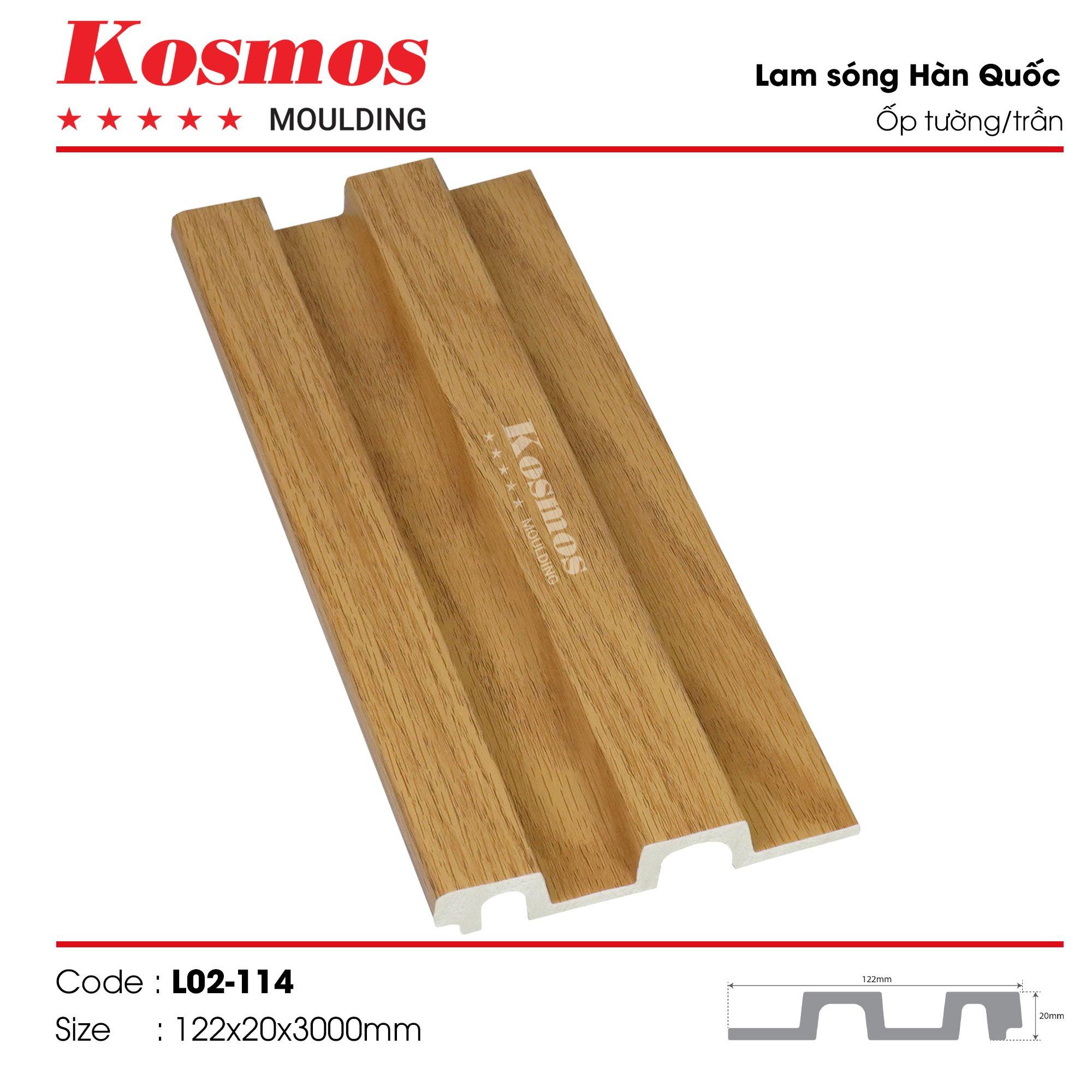 LAM SÓNG KOSMOS MOULDING LO2-114