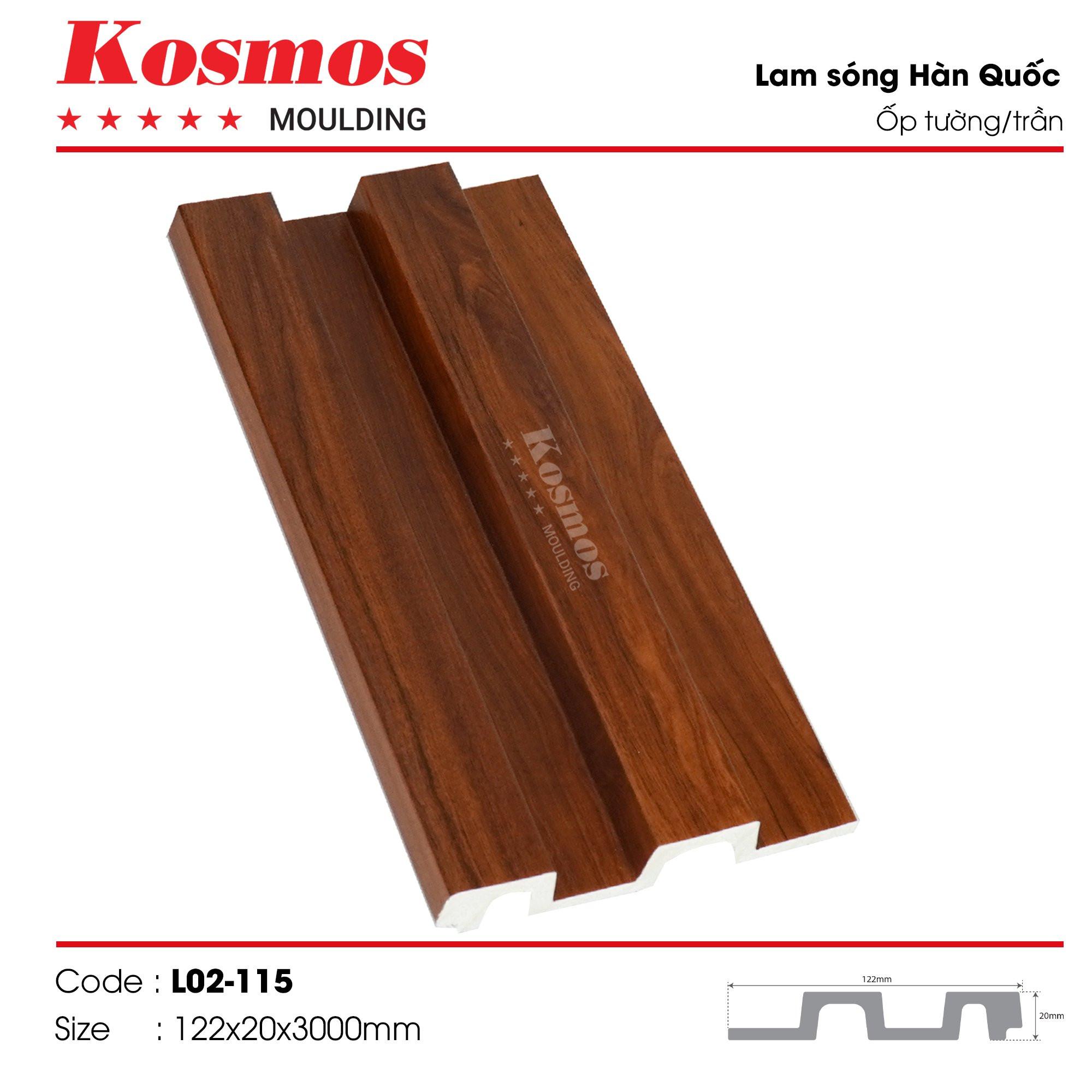 LAM SÓNG KOSMOS MOULDING LO2-115