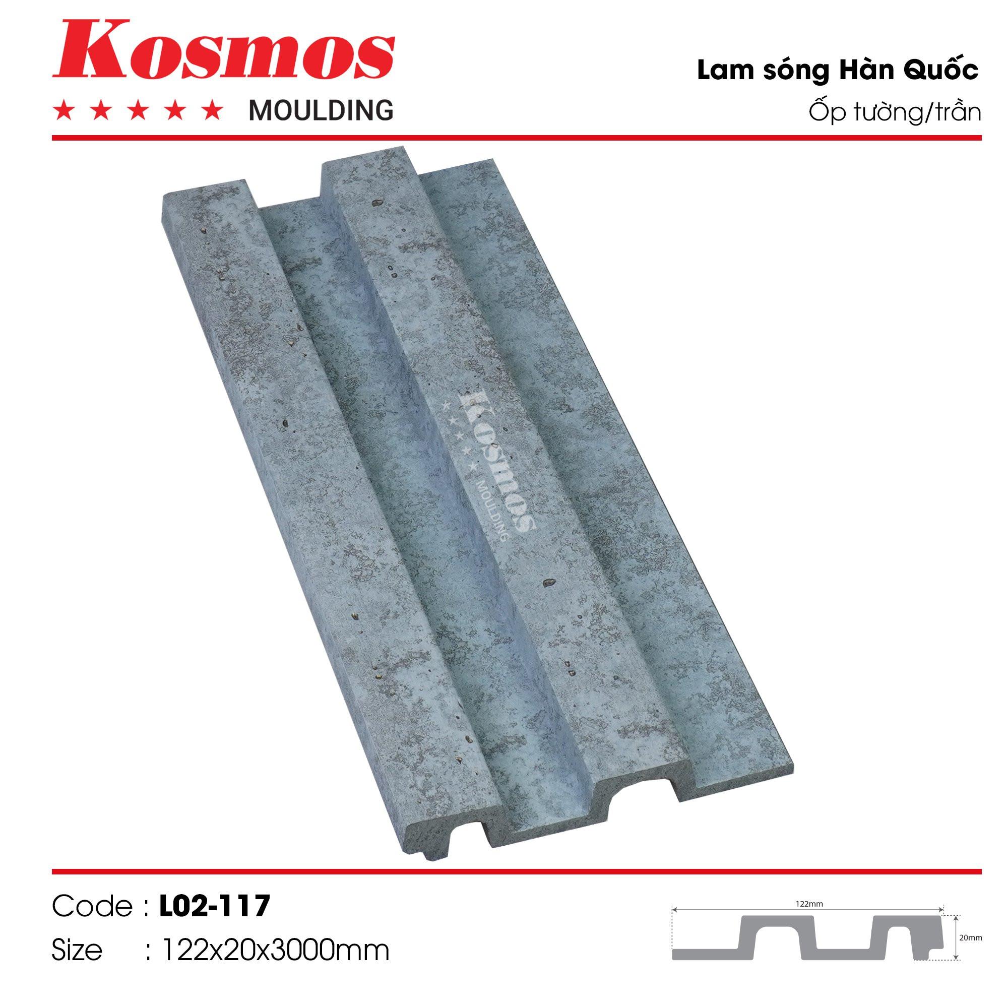 LAM SÓNG KOSMOS MOULDING LO2-117