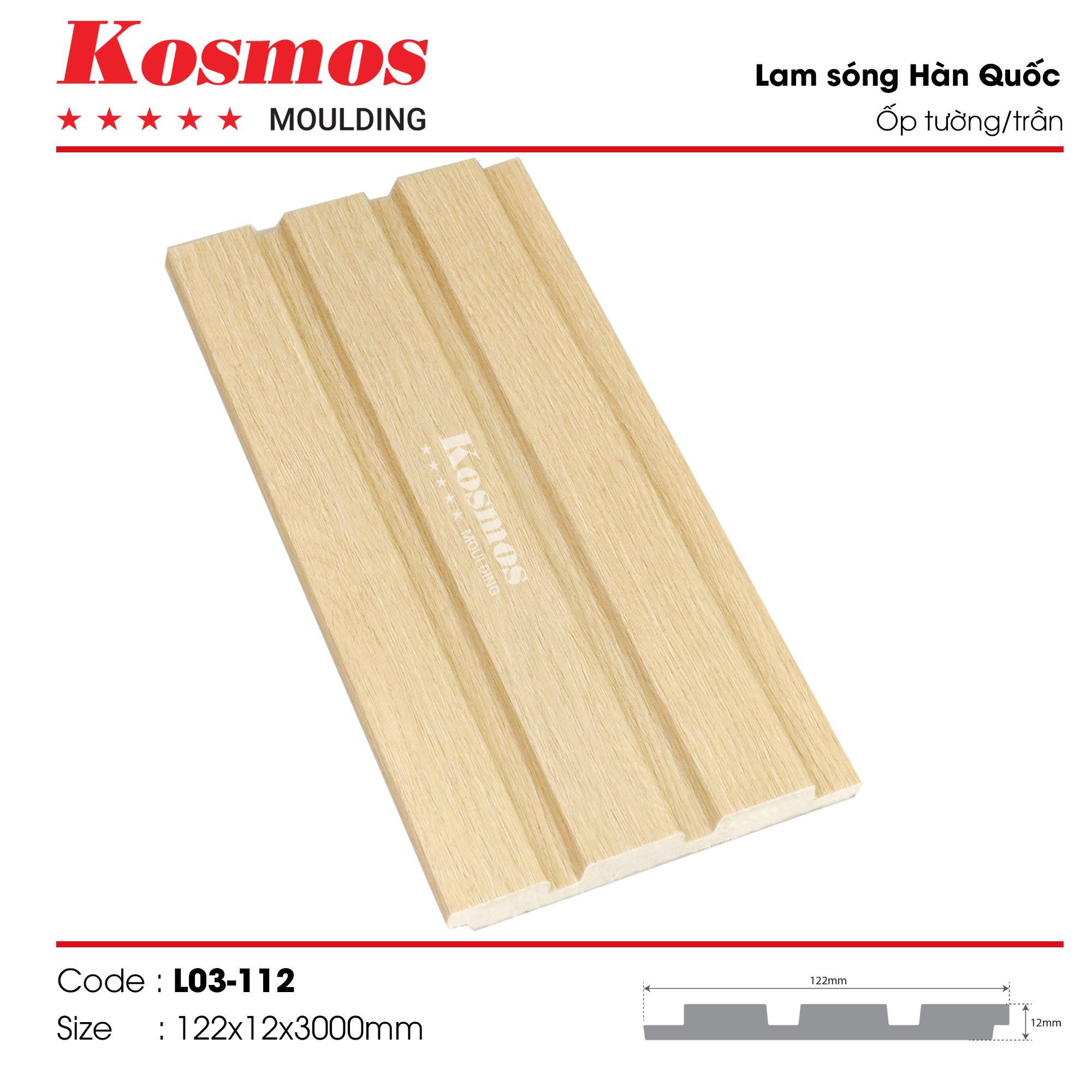 LAM SÓNG KOSMOS MOULDING LO3-112
