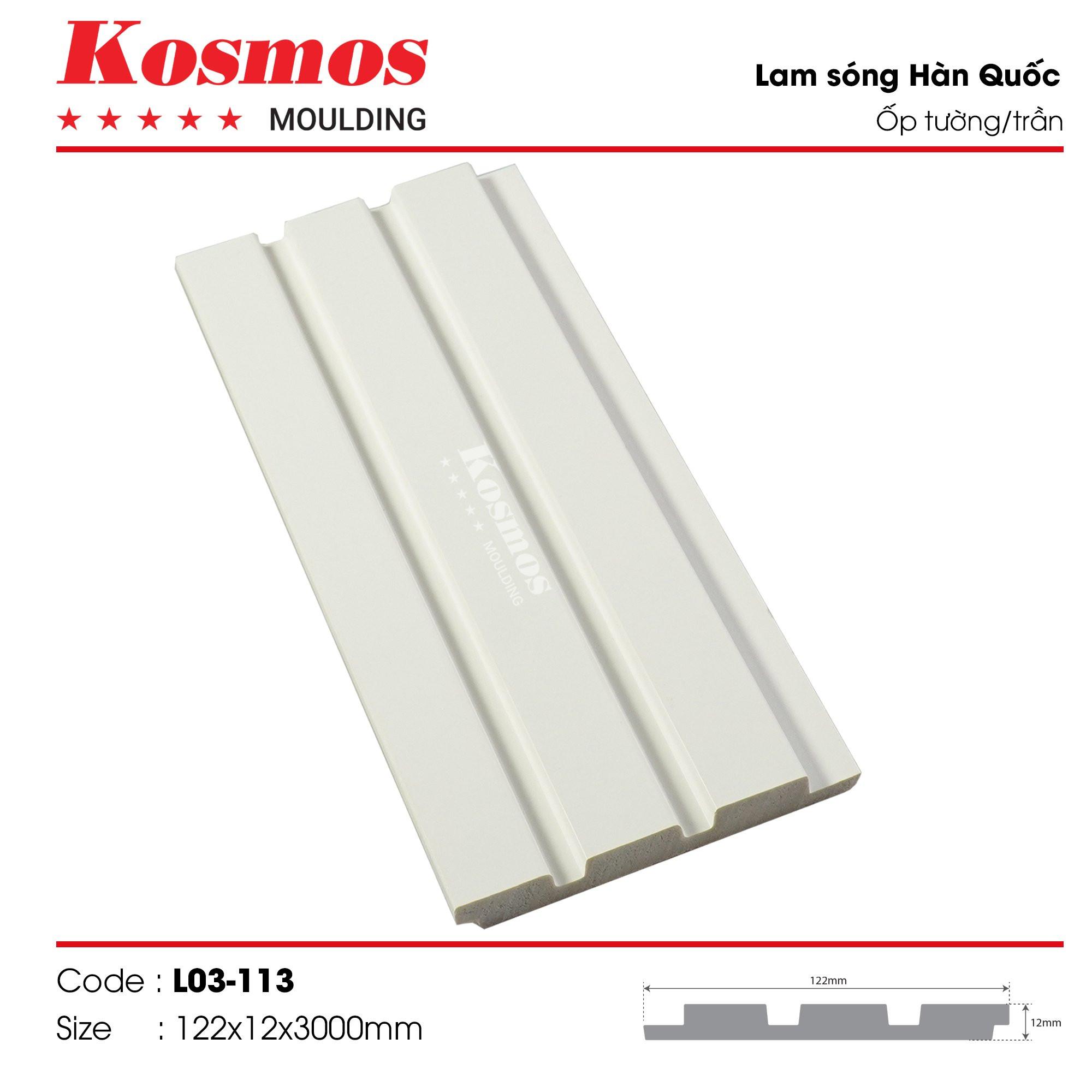 LAM SÓNG KOSMOS MOULDING LO3-113