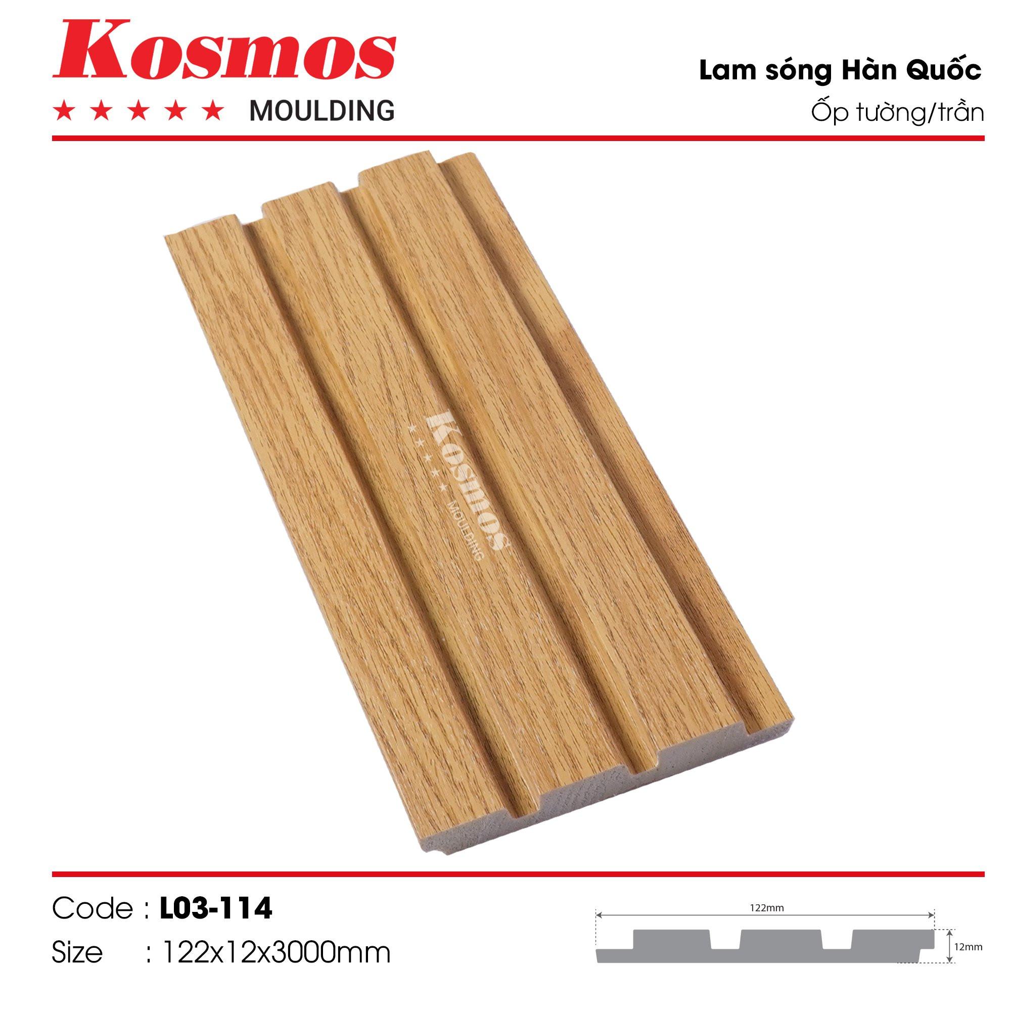 LAM SÓNG KOSMOS MOULDING LO3-114