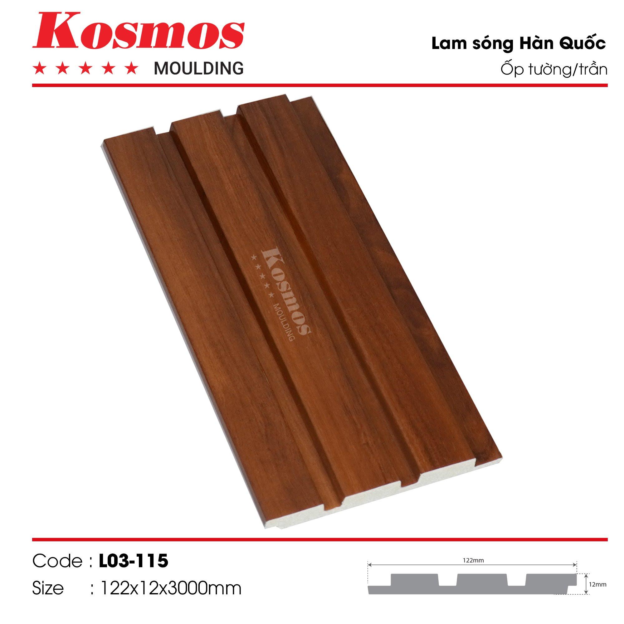 LAM SÓNG KOSMOS MOULDING LO3-115