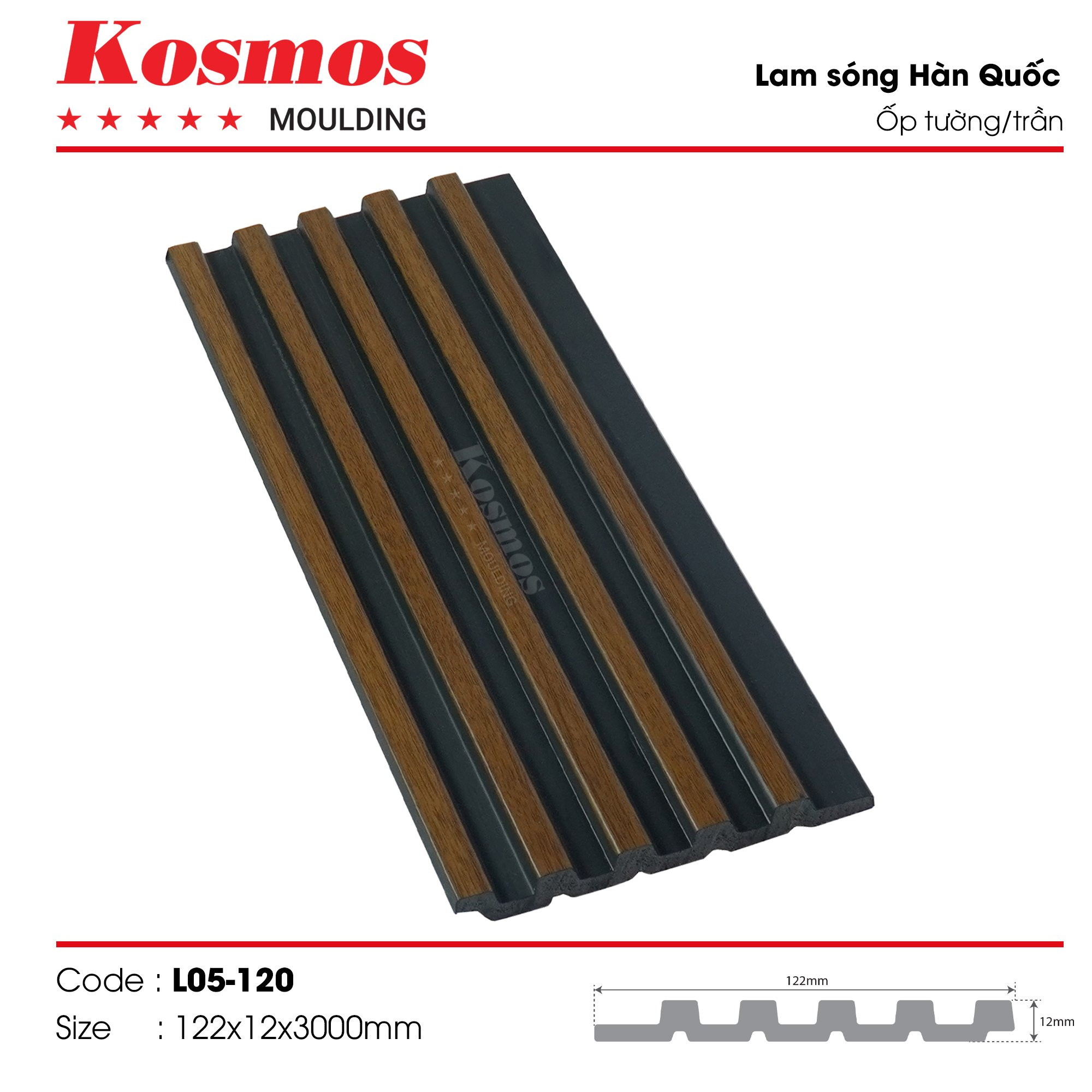 LAM SÓNG KOSMOS MOULDING LO5-120