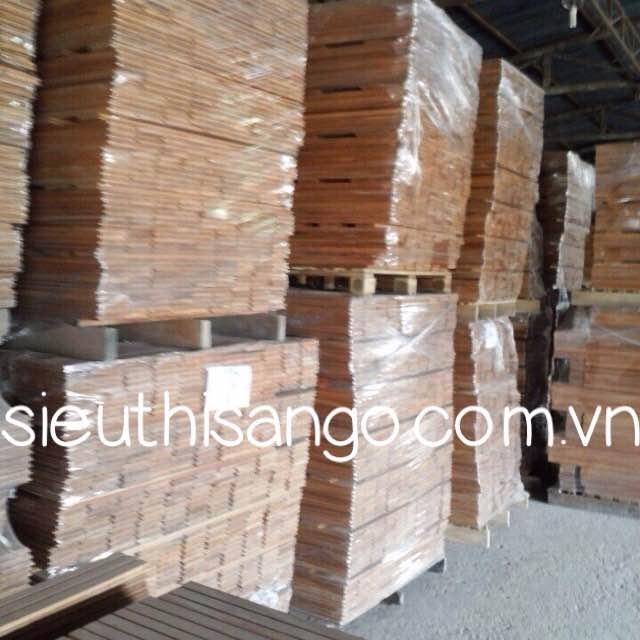 Sàn gỗ Căm xe giá rẻ