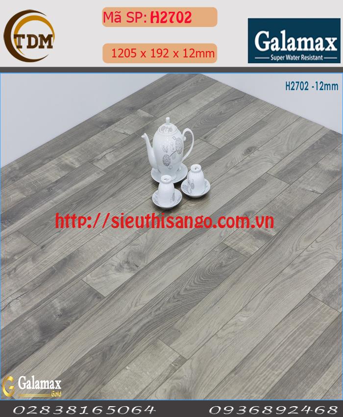 SÀN GỖ GALAMAX H2702 - 12MM