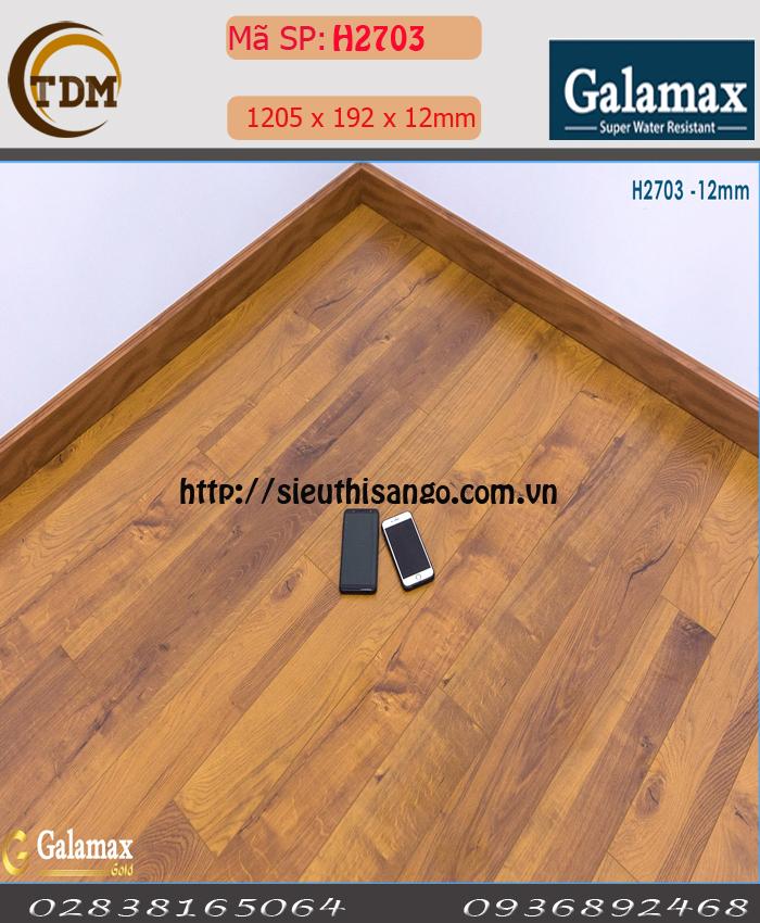 SÀN GỖ GALAMAX H2703 - 12MM