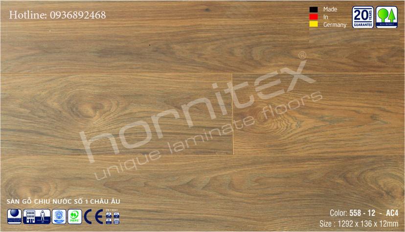 SÀN GỖ HORNITEX 558 - 12MM