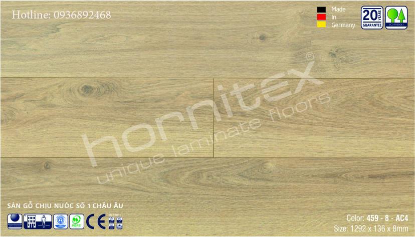 SÀN GỖ HORNITEX 459-8MM