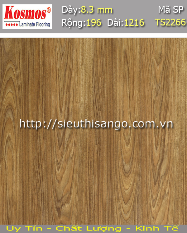 Sàn gỗ KOSMOS 8mm TS2266