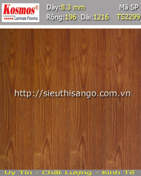 Sàn gỗ KOSMOS 8mm TS2299