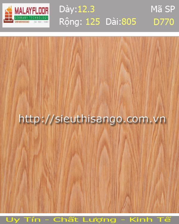 Sàn gỗ Malayfloor 12mm D770