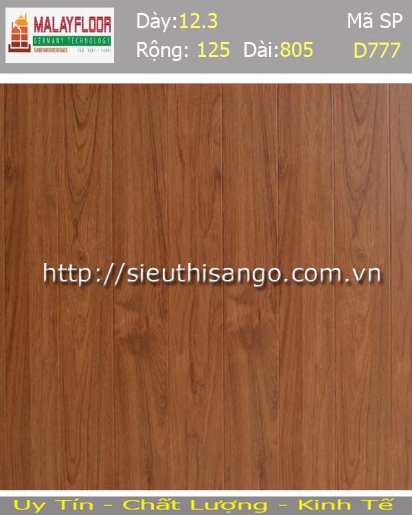 Sàn gỗ Malayfloor 12mm D777