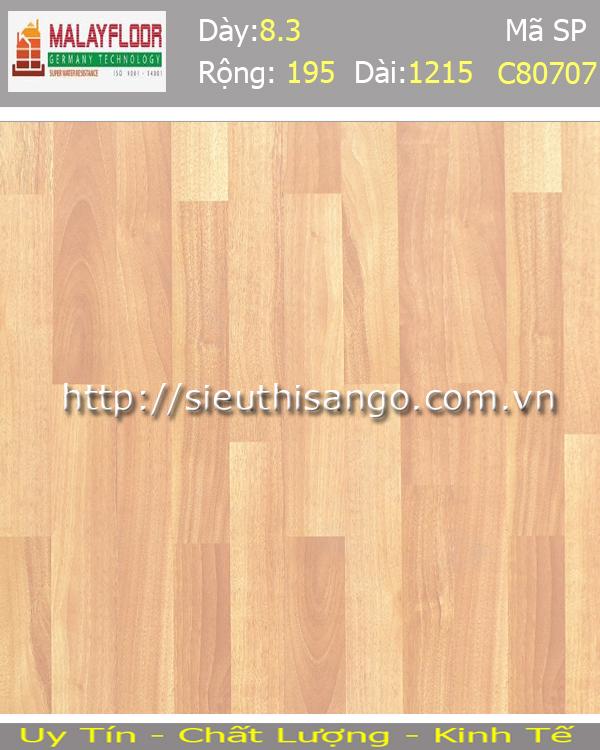Sàn gỗ Malayfloor 8mm C80707