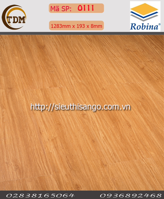 SÀN GỖ ROBINA O111-8MM