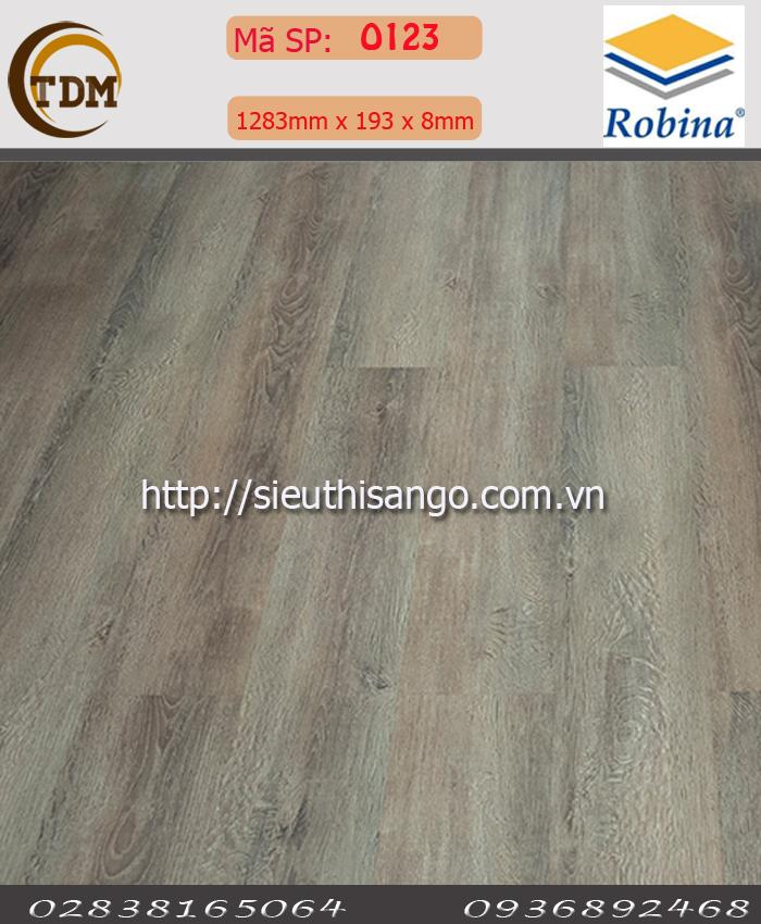 SÀN GỖ ROBINA O123 - 8MM