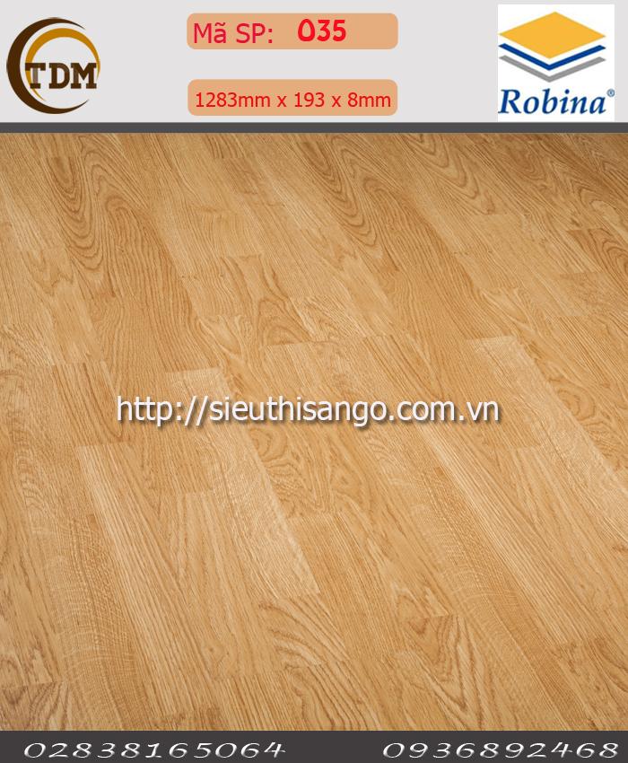 SÀN GỖ ROBINA O35 - 8MM