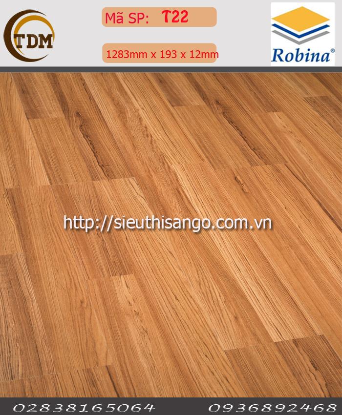 SÀN GỖ ROBINA T22 - 12MM