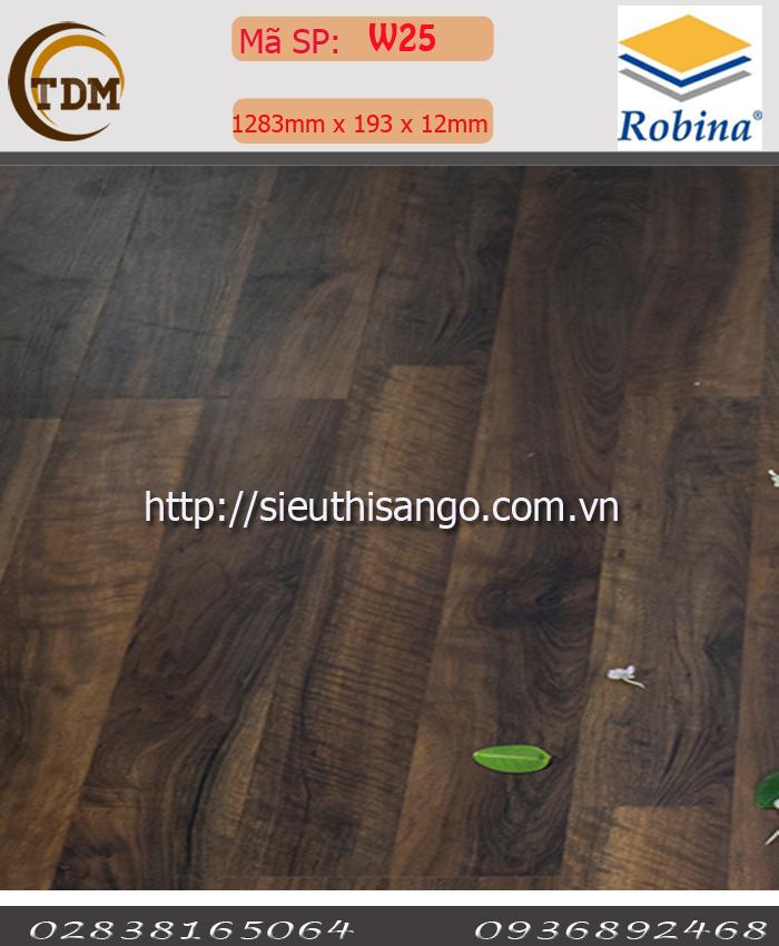 SÀN GỖ ROBINA W25 - 12MM