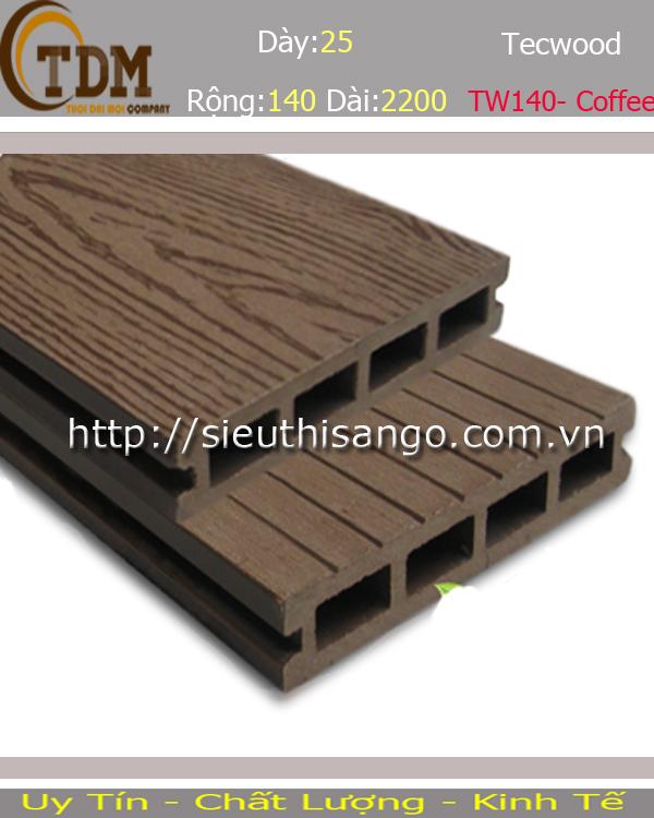 SÀN GỖ TECWOOD TW140 - COFFEE