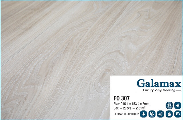 SÀN NHỰA GALAMAX 3MM FO 307