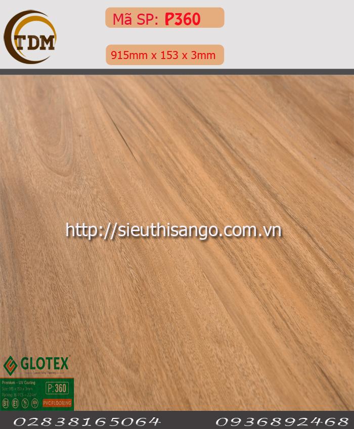 SÀN NHỰA GLOTEX 360 - 3MM