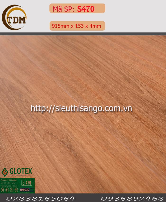 SÀN NHỰA GLOTEX 470 - 4MM
