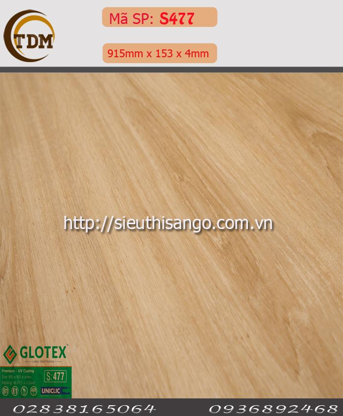 SÀN NHỰA GLOTEX 477 - 4MM